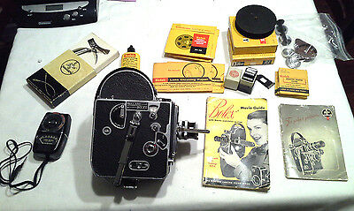 Paillard Bolex 16MM Vintage Movie Camers w Accessories