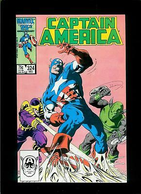 Captain America # 324 (Marvel, 1986, VF / NM) Unlimited Combined Shipping!