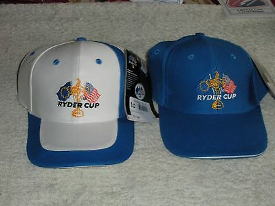 Ryder Cup Caps X 2 New