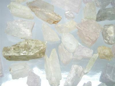 Spodumene (Kunzite, Hiddenite, Triphane) Crystal - 56 Small pcs Lot (108.1 gram)