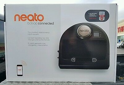 Neato Botvac DC02 Connected Robotic Vacuum Wi Fi Enabled - Black New Sealed
