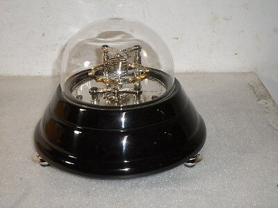 Fantastic Mechanical Demo Escapement With Real Helical Hairspring & Glass Dome