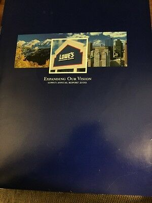 Lowe's Companies Inc Annual Report 2000 And Proxy