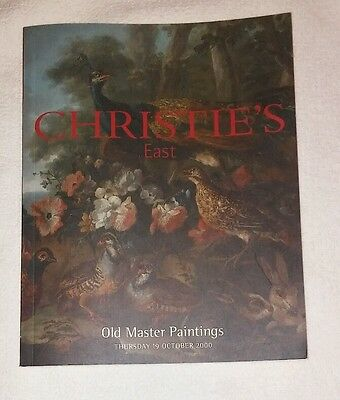 Christie's East auction catalog October 19th, 2000, 92 pages
