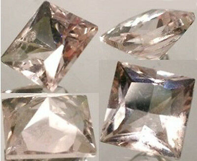 "19thC Antique Russian Handcrafted ¾ct+ ""Pink Emerald"" Beryl Morganite Elba Italy"