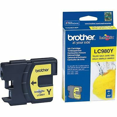 Brother LC980Y - LC980Y YELLOW INK CARTRIDGE