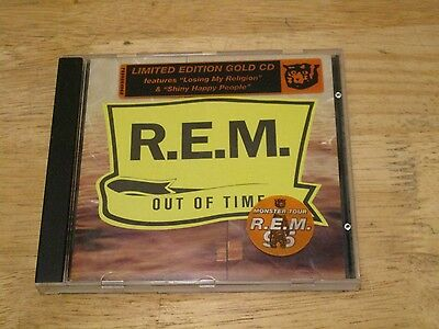 Out of Time R.E.M. Gold CD 1991 Warner Bros Australasian Tour Limited Edition