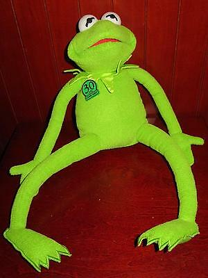 "KERMIT THE FROG Talking Singing TYCO 1999 Plush Doll 20"" Muppets 30th Anni"