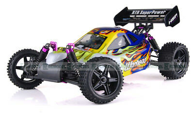 HSP Warhead 1/10 2.4Ghz Nitro 18Cxp Gas Off Road Buggy 4WD 2 Speed 94106 10720 B