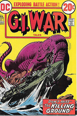 G.I. War Tales Comic Book #2, DC Comics 1973 FINE+