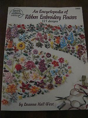 American School of Needlework: An Encyclopedia of Ribbon Embroidery Flowers:Used