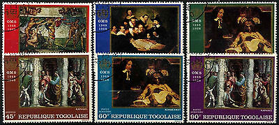Togo 1968 SG#569-601 Who Headquarters Paintings Cto Used Set #D39418