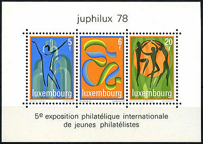 Luxembourg 1978 SG#MS1003 Juphilux Stamp Exhibition MNH M/S #D38979
