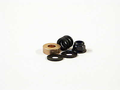 Hpi 87042 Spring 4.9X8X7Mm And Washer 4.3X10X1.0Mm (Hex Hole/black) Set New!