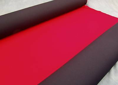 Neoprene wetsuit drysuit material fabric sheet sheets Red