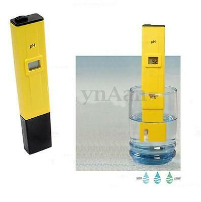 LCD Pocket Digital PH Meter Tester Pen Hydroponics Swimming Food Pool Water Test