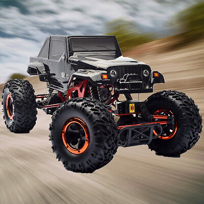 HSP 1/10 4 Wheel Steering 2.4Ghz RC Electric Off Road Rock Crawler RTR 94180