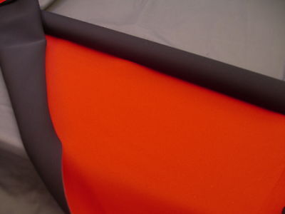 Neoprene wetsuit drysuit material fabric sheet sheets Red 5mm