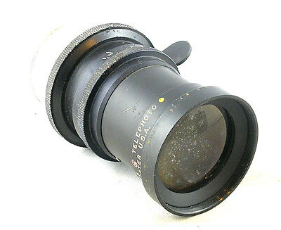 Wollensak 6 In. f/4.5 Telephoto Cine Lens for 35mm