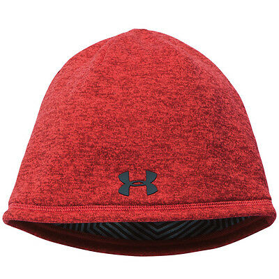 Under Armour Men´s Elements 2.0 Beanie Mütze red gray 1262141-603 ColdGear
