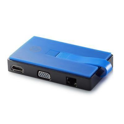 HP T0K30AA#AC3 -  USB-A Travel Dock With USB-A Out