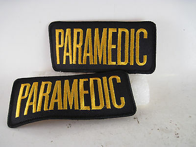 """Paramedic patch pair of 2  -- 2"""" x  4 1/4"""