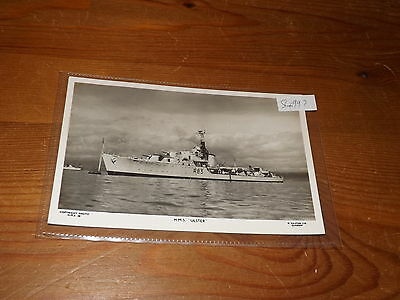 Old SHIP   postcard our ref #54997 HMS ULSTER RP