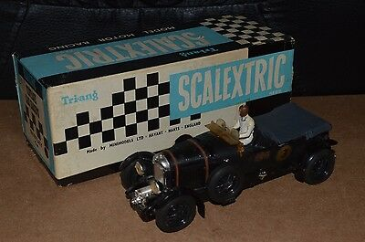 Vintage Scalextric C64 Bentley 4.5L Racing Car Black Boxed 1960's