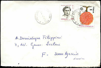 Italy 1987 Commercial Cover To France #C38412