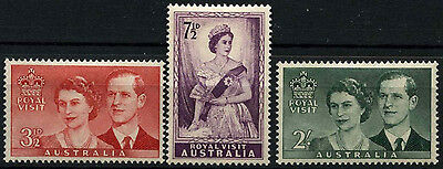 Australia 1954 SG#272-4 Royal Visit MH Set #D38214