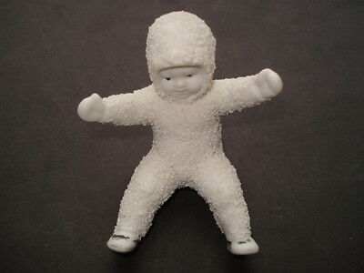 Cww1 Vintage Bisque China Snow Baby Christmas Cake Decoration
