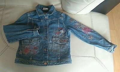 Girls Next denim jacket 5-6 years
