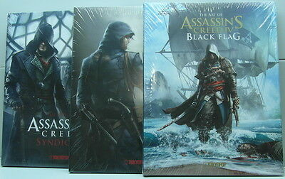 The Art of Assassin's Creed®  Artbook ( Black Flag, Unity, Syndicate )