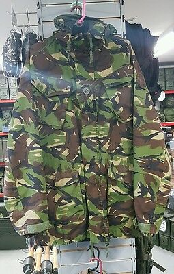 Rare 'trials' 190/104 British Army Ecw Extreme Cold Weather Dpm Combat Smock Mvp
