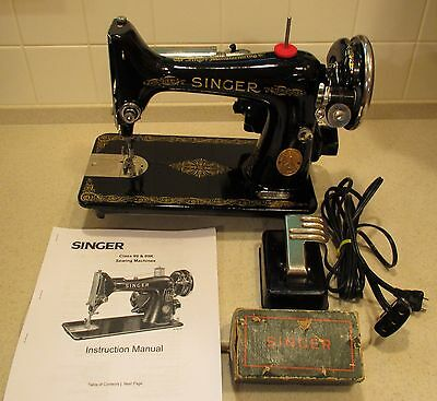 Industrial Strength Singer 99 Sewing Machine Loaded Completely Serviced