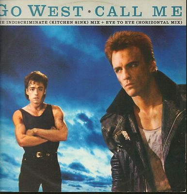"Go West(12"" Vinyl P/S)Call Me-Chrysalis-GOWX 1-UK-VG/VG"