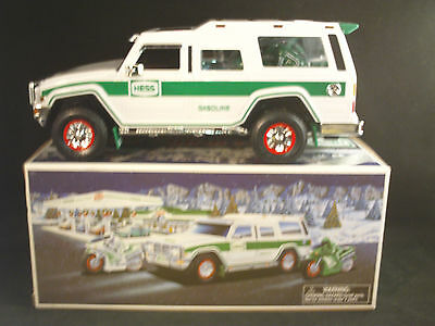 Hess Sport Utility Vehicle and Motorcycles 2004 NIB GREAT GIFT