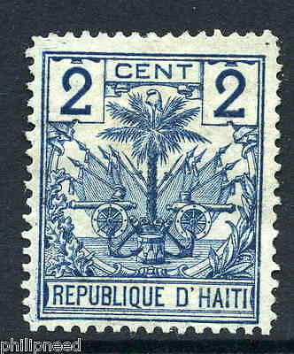 """HAITI 1891 2c Date Tree Mint - Dots in """"2"""" & Visible at Back - Proof? [N338"""