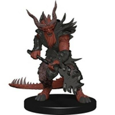 Pathfinder Battles miniatures 1x x1 Bearded Devil Deadly Foes NM