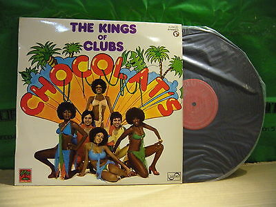 Chocolat's ‎– The Kings Of Clubs ' LP MINT SPAIN PRESS 1977