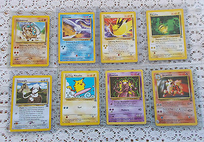 LOT Vintage Black Star Promo Pokemon Cards Mewtwo Zapdos Surfing Pikachu MORE