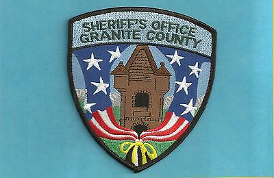 Montana- New Style- Large- Granite County Sheriff's Office-Nice