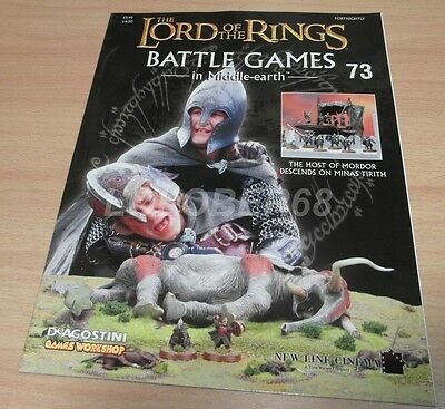 LORD OF THE RINGS Battle Games in Middle-earth Magazine Issue 73