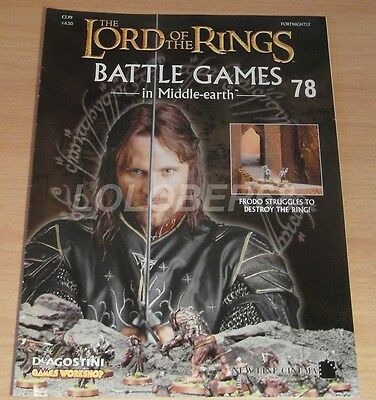 LORD OF THE RINGS Battle Games in Middle-earth Magazine Issue 78