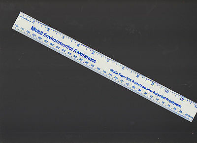 Mobil Environmental Awareness Ruler Polystyrene