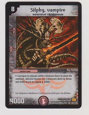 1 carte .DUEL MASTERS  SILPHY VAMPIRE64/110.TRES RARE..VOIR PHOTO