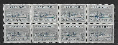 Estonia. 1933. 2k. mnh blks. 4 (2 blocks)
