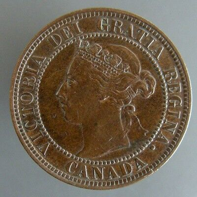 Victoria Large Cent 1898H High Grade