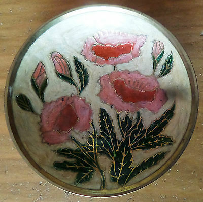 """Vintage Gold Rimmed Small Plate – Pin Dish Approx. 3.3/4"""" Dia"""