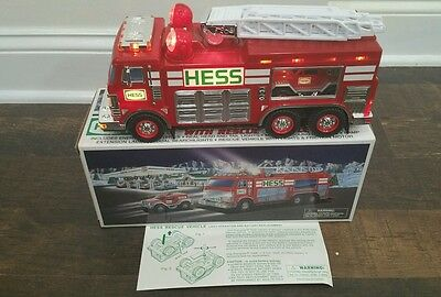 2005 Hess Emergency Fire Truck and Rescue Vehicle